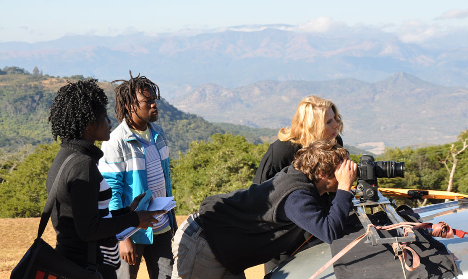 Martha Ferguson Directing and Blessing Hungwe, Yeuki
